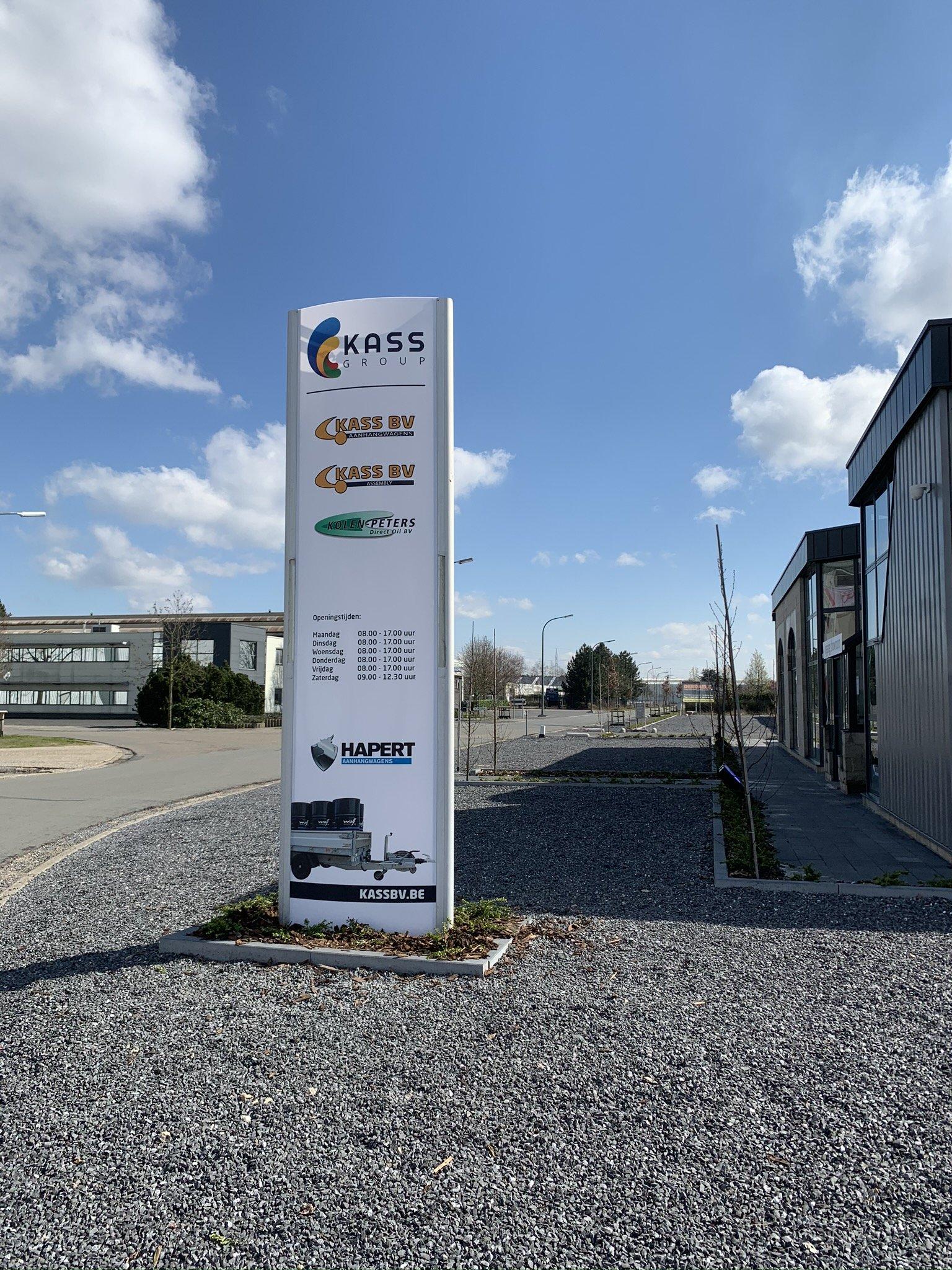2 Zuil Kass Group Belgie
