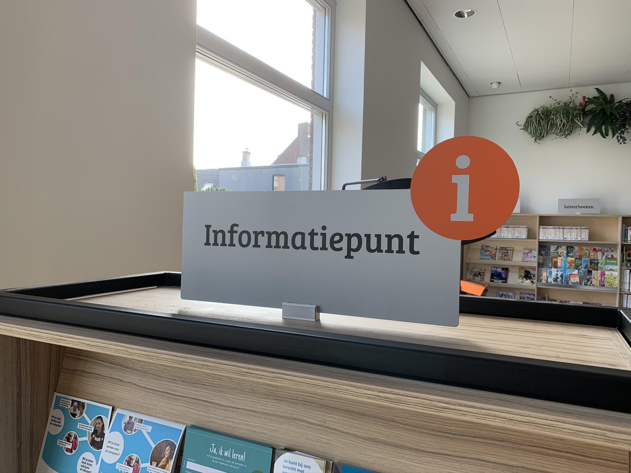 6 Informatiepunt bord