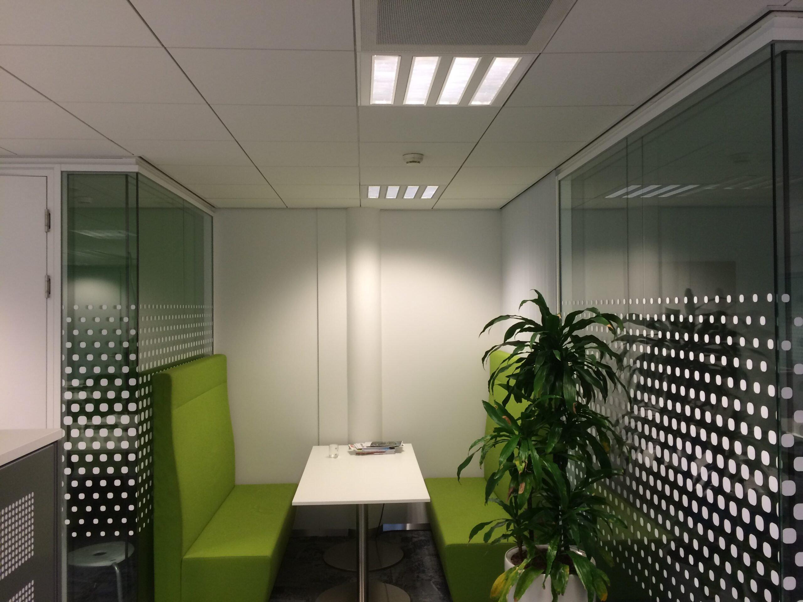 5 Raamfolie kantoor